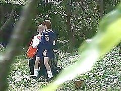 aziatisch verborgen camera 's verborgen sex buiten prive