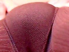 brunette fétiche fétichisme des pieds masturbation nylon