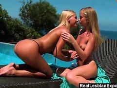 blondin hd lesbisk
