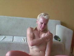 granny from estonia mastrubates and cumming hard
