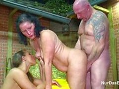 Mother and Father Seduce Step-Daughter