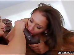 anal interracial trio grosse bite pipe