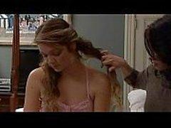 wife seducing anf fucking babysitter in a wonderfull lesbian scene