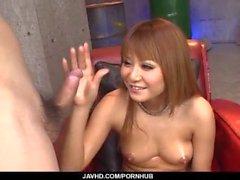 Cock sucking Kokoa Ayane loves to swallow