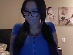 grandes mamas óculos webcams bebê big seios -