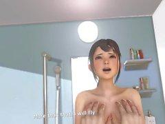 anime vr vr kanojo 3d animazione gioco asiatico titfucking simpatico punto procace