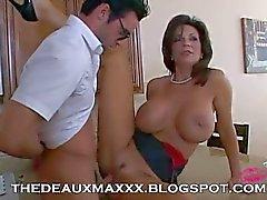 deauxma pareja sexo anal grandes tetas