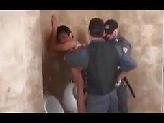 латиноамериканцы охранники полиция тройка трио