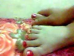 dilettante arabo feticismo del piede