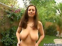 Busty British Slut Getting Butt Fucked