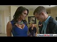 (jessica jaymes) Sexy Lovely Wife Like To Cheat In Hard Sex Style Action Tape movie-12