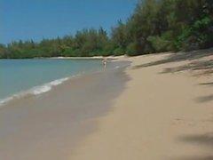público fuera playa nude- playa bikini