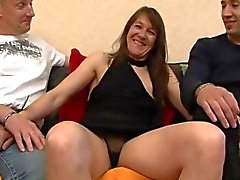 Milf Cassandra ass fucked in front of her boyfriend