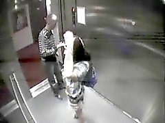 Elevator fun gets caught