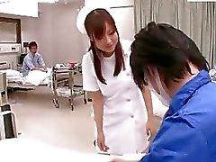 asiático enfermeiras adolescente