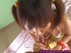 Rika Hayama Sucks a Cock and gets Cum part3