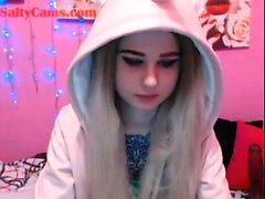 Cute Webcam Teen Dildo Masturbation