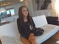 Casting teen amateur fucking on tape for cash