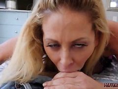 blond pipe hd milf