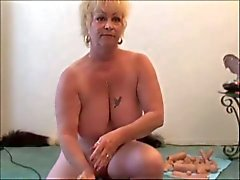 Two Grannies - One Sybian - Granny squirts