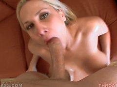 avsugning blondin pov oral