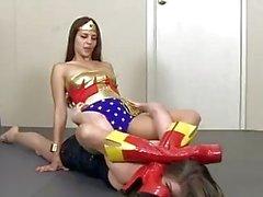 Wonder Woman Defeated by Crazed Fan