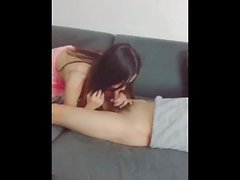 Hot Chinese Lady Getting After Shower Creampie