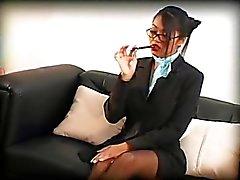 This secretary has special skills