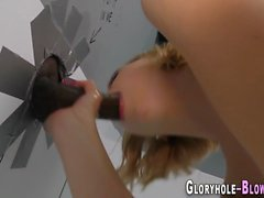 teen gloryhole facialized masturbation