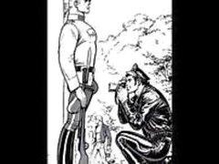 кожа байкеры полицейские геем рисунков