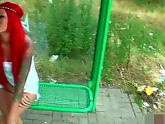 naughty-hotties net - Redhaired chick public