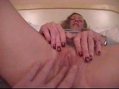 Busty Cougar Sucks and Fucks