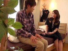 asiático grandes tetas japonés bragas adolescente