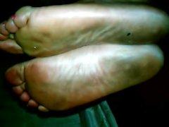 nasty dirty ebony feet