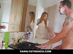 familje slag dotter stora bröst stor kuk