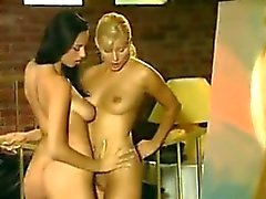 Artist With Two Hot Lesbians In A Threesome