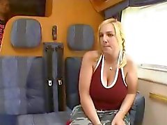 19 year old blonde Norwegian Tina has huge knockers and gets nailed