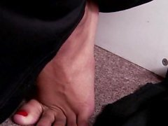 Hot cops feet jizzed over