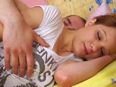 Teenyplayground - Sleeping teen fucked hard by her much older stepbrother