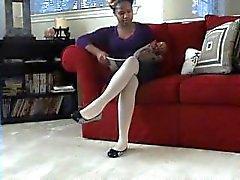 siyah nokta- görünümü ilginçlik külotlu çorap abanoz