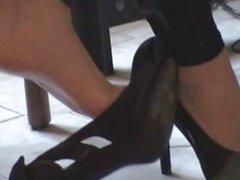 shoeplay asiatique talons aiguilles dangling plongement