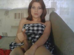 Russian TGirl On Cam