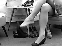 saksa jalka fetissi milfs sukat tirkistelijä