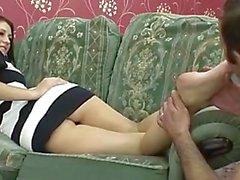 entortillement pieds fétiche