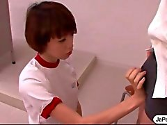 japon öğrenci asya oral seks