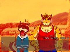 аниме пушистый японский гей