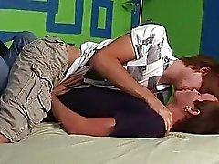 yatak odası eşcinsel çıtçıt oral seks öpme
