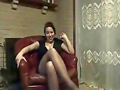 femdom feticismo del piede pov