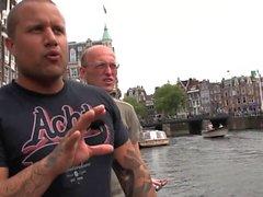 Dutch prostitute gets cum