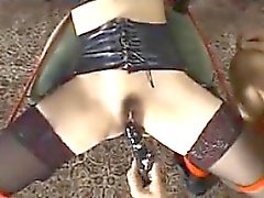 Bound Japanese Girl Gets Pussy Toyed With